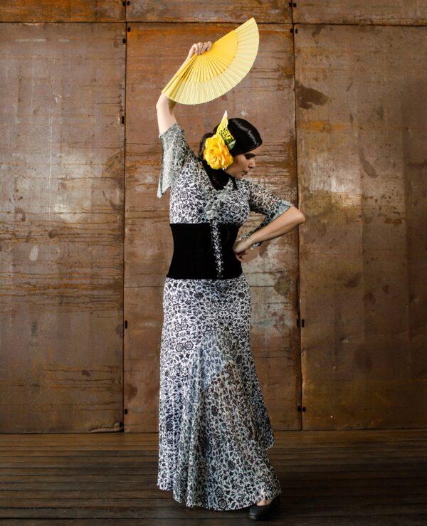 Saia Flamenca Alamanda Plus Inverno com Tule