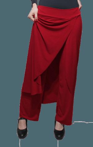 Calça papoula vermelha