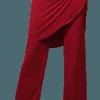 Calça Saia Flamenca Papoula Vermelha