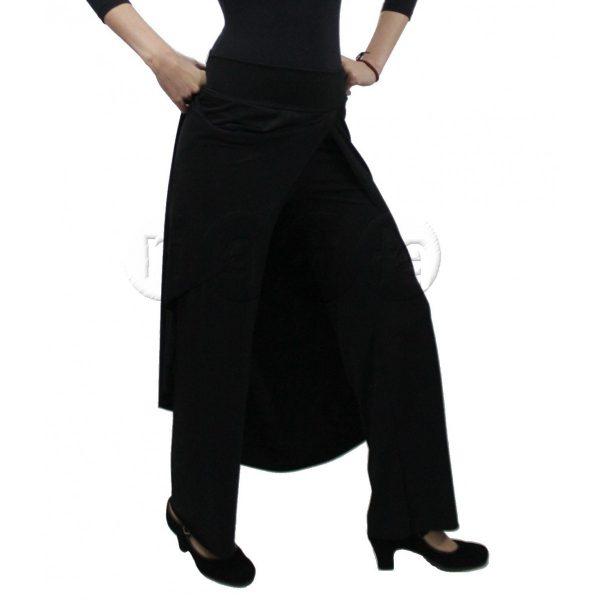 Calça papoula preta