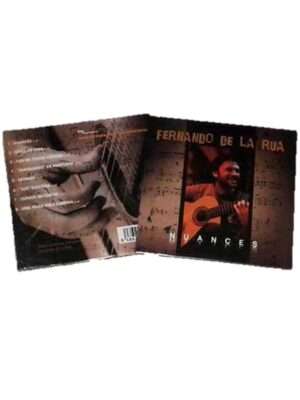 CD Flamenco Nuances Fernando De La Rua