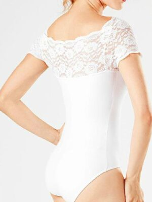 Collant Flamenco Renda Branco