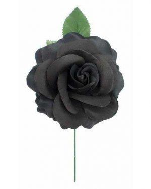Flor espanhola preta