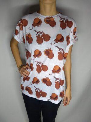 Camiseta castanholas
