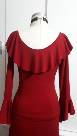 Blusa kali vermelha